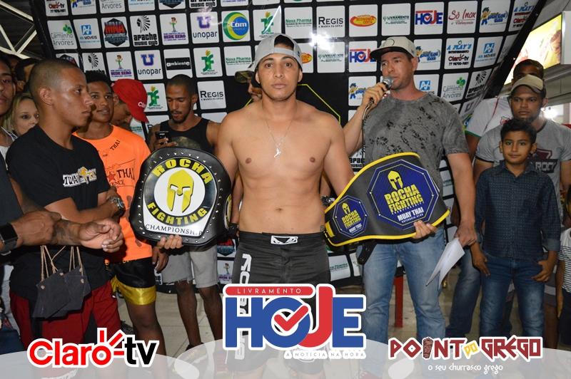 2º Rocha Fighting Championship: Pesagem Oficial