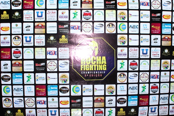 3º Rocha Fighting Championship: Pesagem Oficial