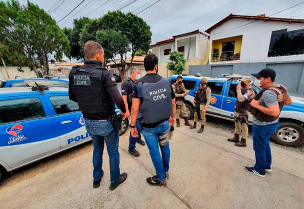 Polícias Civil e Militar de Brumado, realizam operação 'Campo Seco' em repressão ao tráfico de drogas