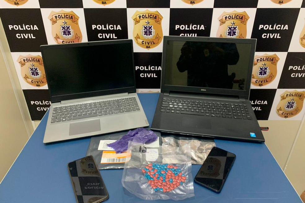 Dois homens são presos com dezenas de comprimidos de ecstasy em Vitória da Conquista