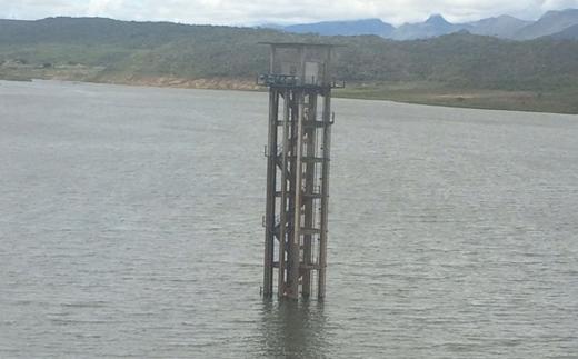 Com volume de chuvas dos últimos dias barragem Luís Vieira agora opera com 25 por cento de sua capacidade