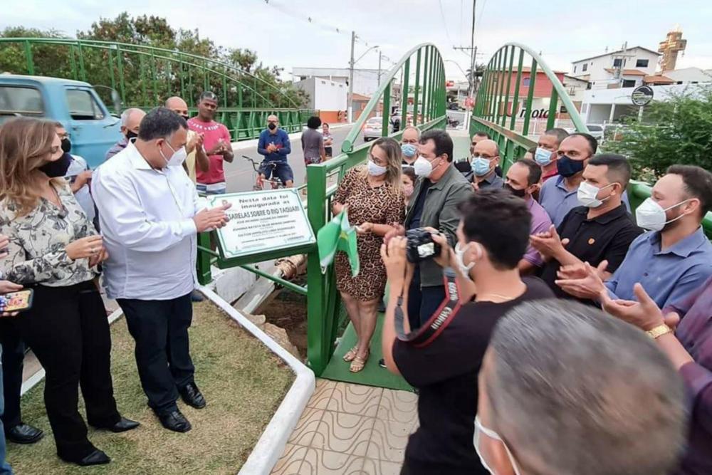 Prefeitura de Livramento realizou inaugurações no sábado (31/07)