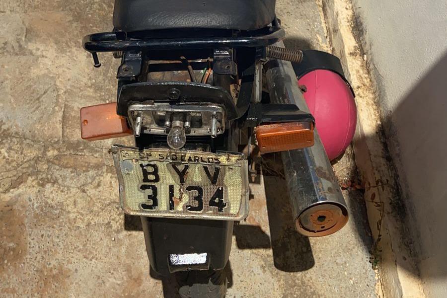 Livramento: PM recupera motocicleta com sinais de adulteração