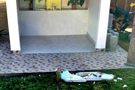Homem invade paróquia e destrói imagem de Nossa Senhora de Fátima no Sul da Bahia