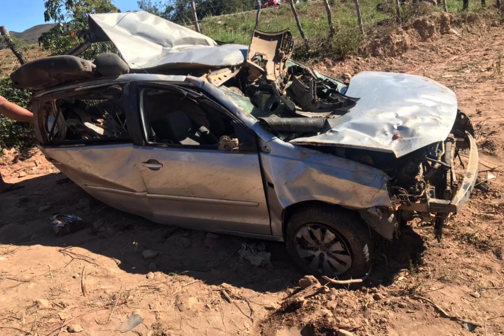 Acidente mata 04 pessoas e deixa duas ferida na Chapada Diamantina