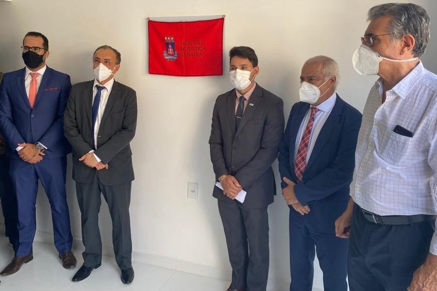 Presidente do TJ-BA inaugura novas instalações do CEJUSC de Paramirim