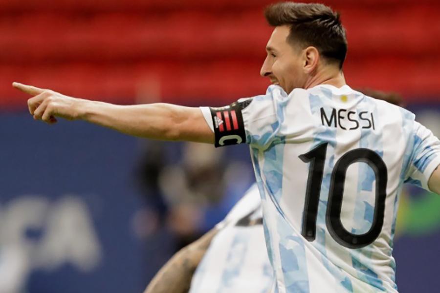 Argentina vence Colômbia nos pênaltis e faz final da Copa América com Brasil