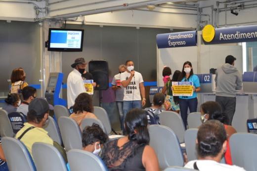 Caixa Econômica: Sindicato dos Bancários realiza mobilização em Conquista