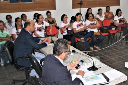 Rio de Contas: Vereadores apoiam plano de carreira para educação