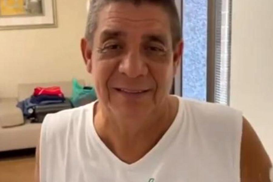 'Já estou acabando o tratamento', anuncia Zeca Pagodinho