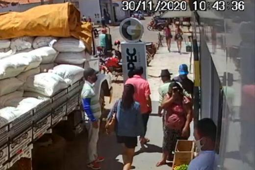 Bom Basílio: Mulher é presa após praticar furtos