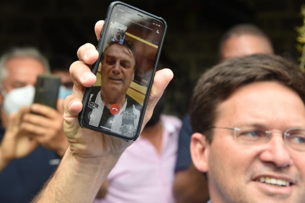 'João Roma é o futuro da Bahia com toda certeza', diz Bolsonaro
