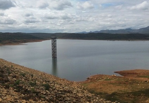 Rio de Contas: Volume de Água na Barragem Luis Vieira ainda continua baixo