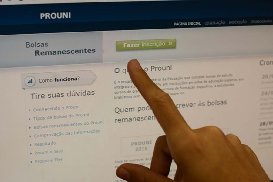 Abertas as inscrições para lista de espera do ProUni