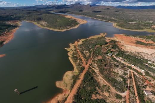 Rio de Contas: Barragem Luis Vieira registra novo aumento