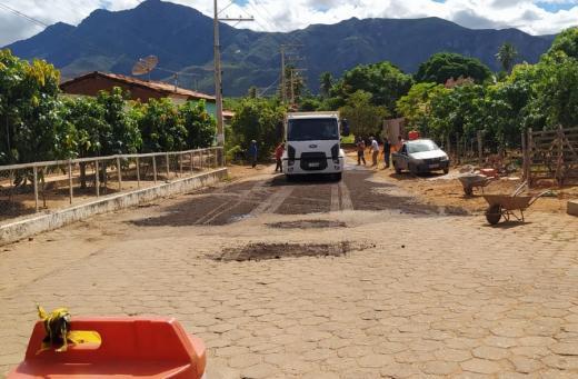 Vereador Paulo Lessa Filho comemora recuperação das vias no Município, Rua do Areião e Rua do Fogo