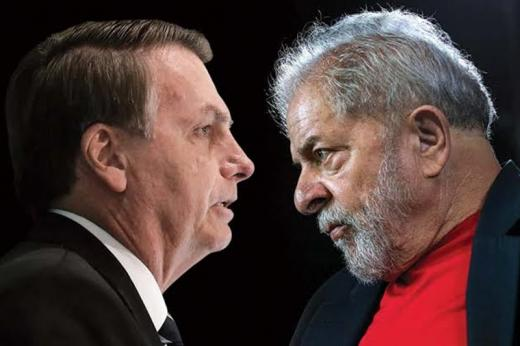 Lula lidera corrida eleitoral de 2022 e marca 55% contra 32% de Bolsonaro no 2º turno
