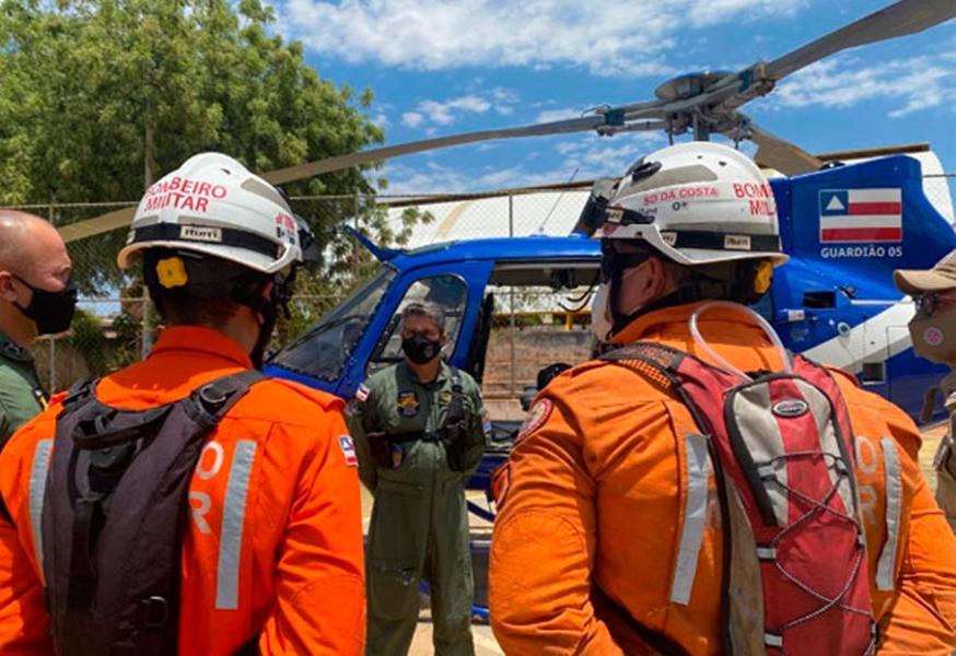 Operação de Combate a Incêndio Florestal é realizada nos municípios de Livramento, Rio de Contas e Érico Cardoso