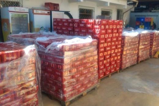 Polícia recupera carga de cerveja avaliada em R$ 200 mil