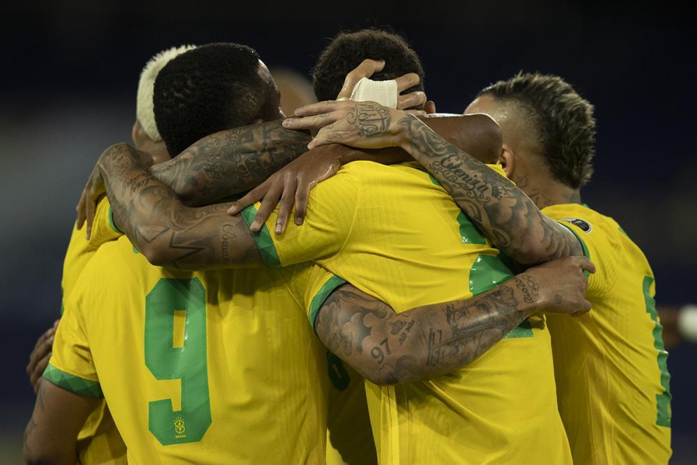 Brasil, invicto, enfrenta Colômbia pela Copa América 2021
