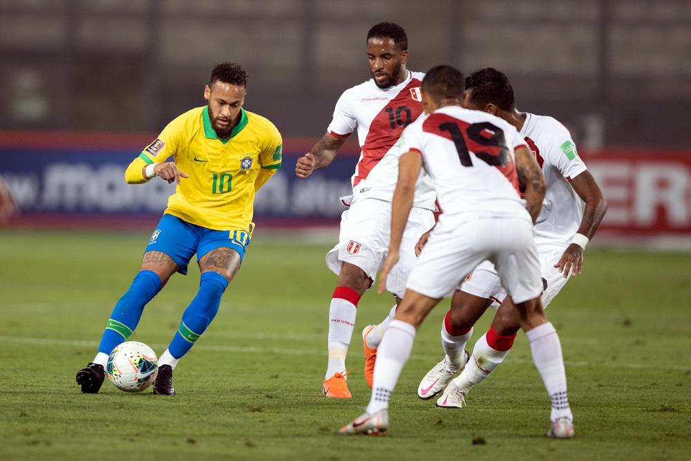Brasil e Peru se enfrentam pela segunda rodada da Copa América 2021