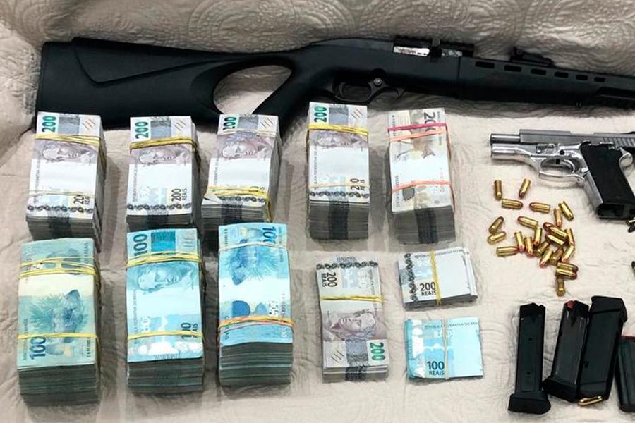 Polícia apreende R$ 660 mil em Vitória da Conquista com irmão de prefeito de cidade paulista