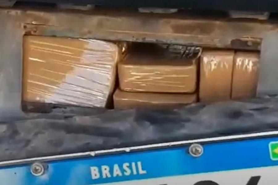 Homem é preso em rodovia após ser flagrado com 130 kg de cloridrato de cocaína em Urandi