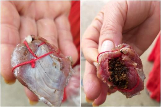 Carne envenenada com chumbinho é encontrada em rua de Rio de Contas
