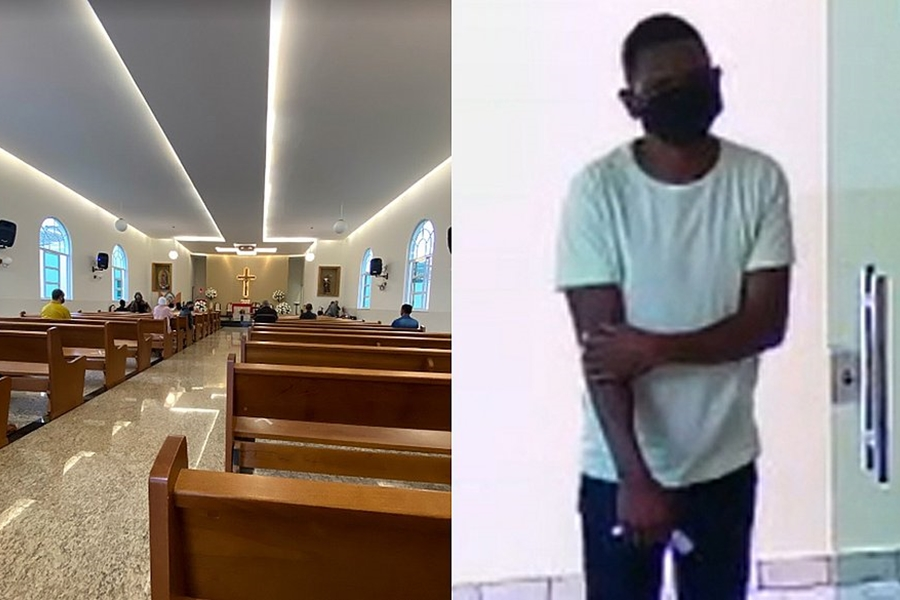 Falso fiel pede para se confessar e rouba R$ 800 de igreja em Vitória da Conquista