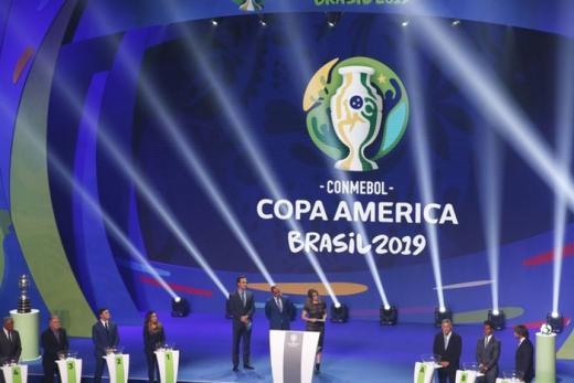 Brasil enfrentará Bolívia, Venezuela e Peru na 1ª fase da Copa América