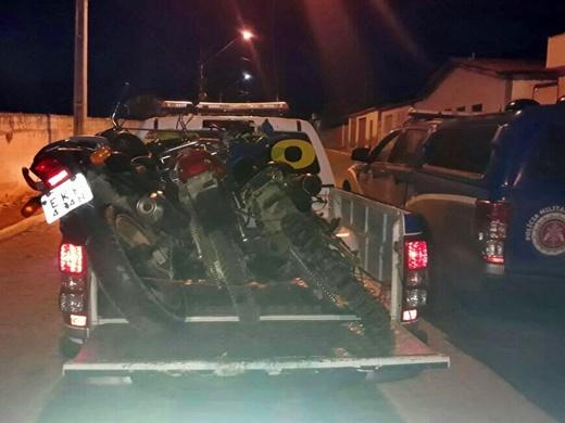 Jussiape: Polícia Militar realiza apreensões de diversos materiais e equipamentos de uso ilícito; quatro homens foram presos
