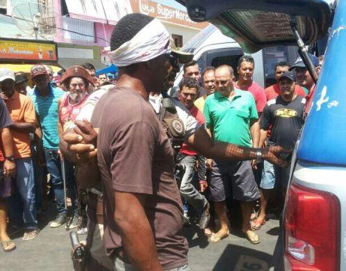 Três indivíduos tentaram furtar estabelecimentos comerciais hoje em Livramento